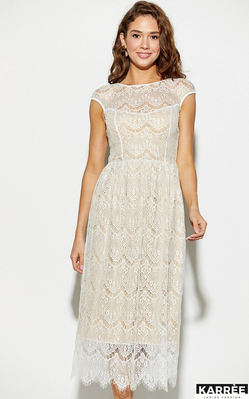Платье Жаклин, Белый - фото 3