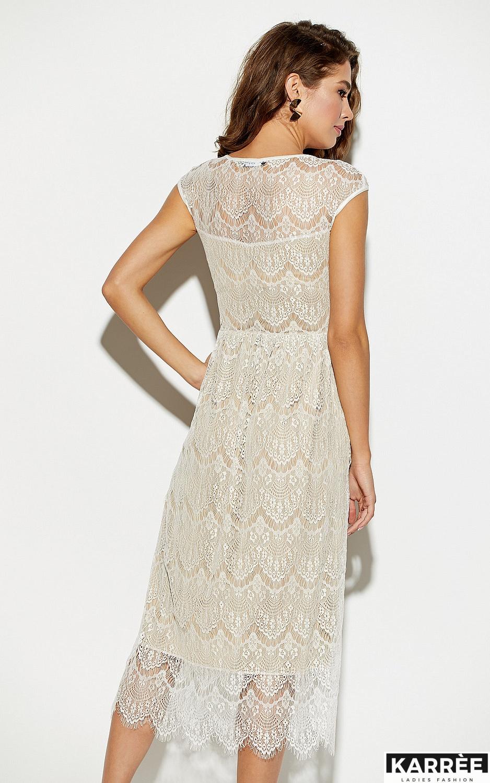 Платье Жаклин, Белый - фото 4