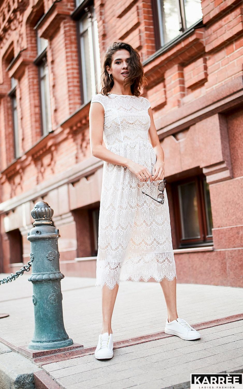 Платье Жаклин, Белый - фото 1