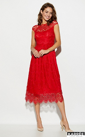 Платье Жаклин, Красный - фото 1