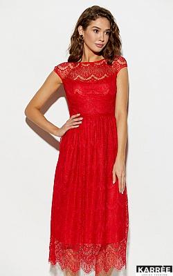 Платье Жаклин, Красный