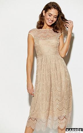 Платье Жаклин, Бежевый - фото 1