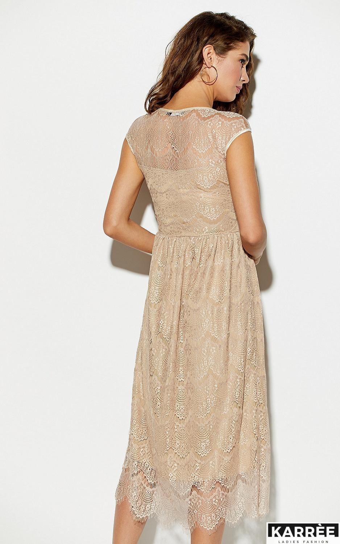 Платье Жаклин, Бежевый - фото 2