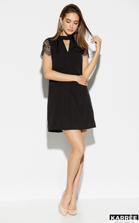 Платье Дольче, Черный - фото 4