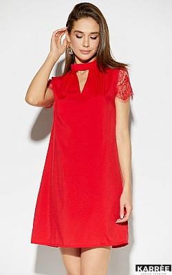 Платье Дольче, Красный