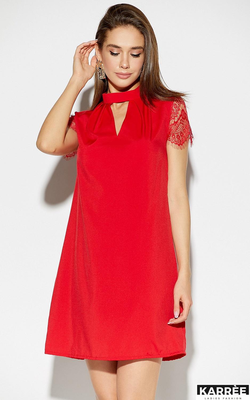 Платье Дольче, Красный - фото 2