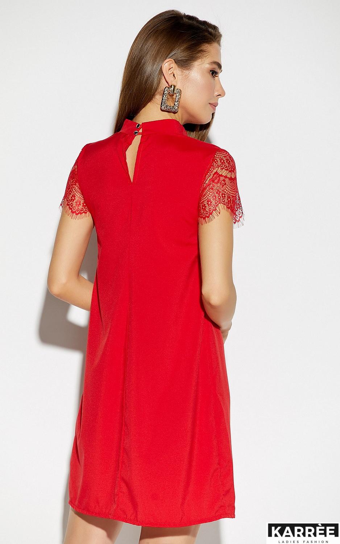 Платье Дольче, Красный - фото 3