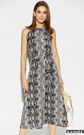 Платье Конго, Серый - фото 3