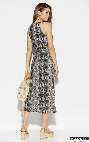 Платье Конго, Серый - фото 4