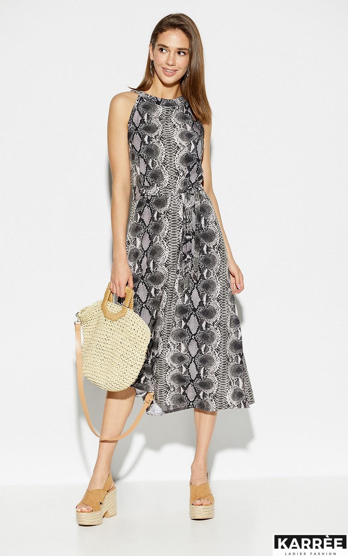 Платье Конго, Серый - фото 2