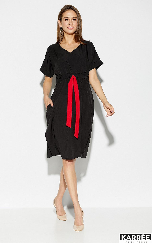 Платье Элис, Черный - фото 3