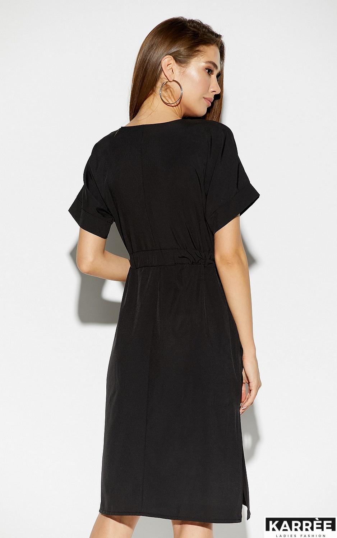 Платье Элис, Черный - фото 2