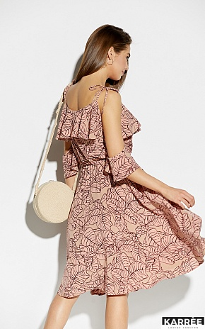 Платье Романтика, Пудровый - фото 3