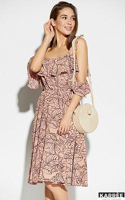 Платье Романтика, Пудровый
