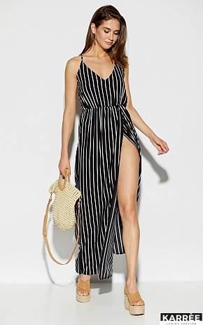 Платье Санторини, Черный - фото 1
