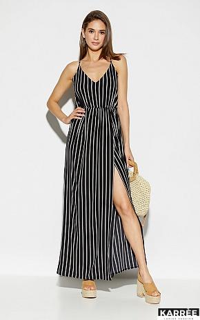 Платье Санторини, Черный - фото 2