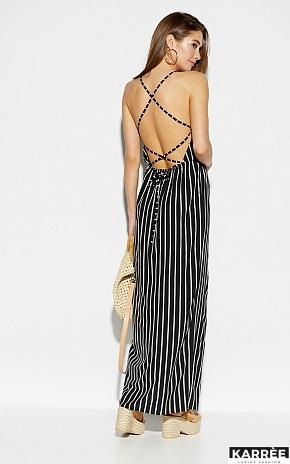 Платье Санторини, Черный - фото 4