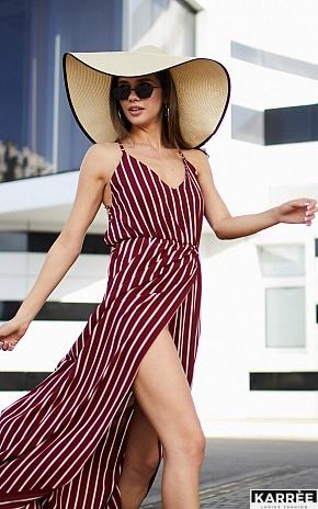 Платье Санторини, Марсала - фото 1