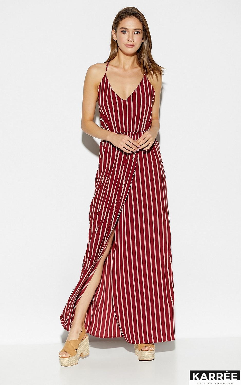 Платье Санторини, Марсала - фото 3