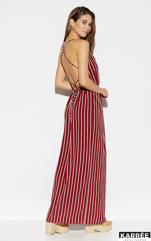 Платье Санторини, Марсала - фото 4