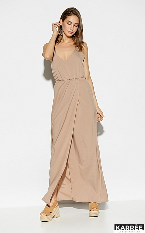 Платье Монреаль, Темно-бежевый - фото 1