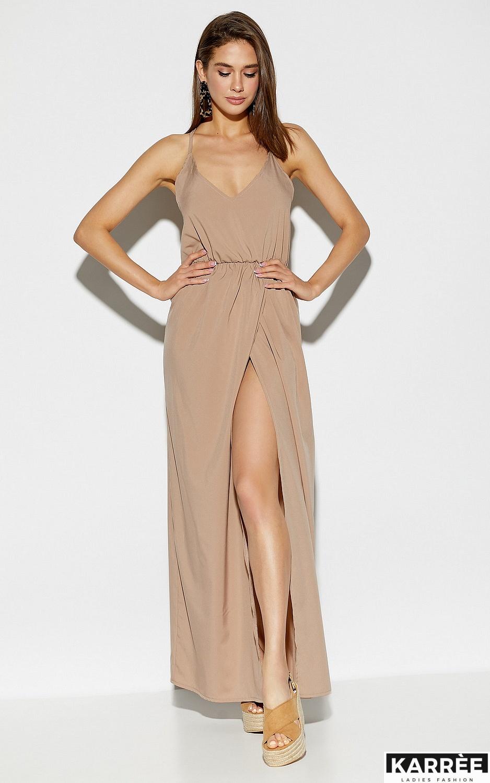 Платье Монреаль, Темно-бежевый - фото 2