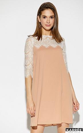 Платье Скай, Бежевый - фото 2