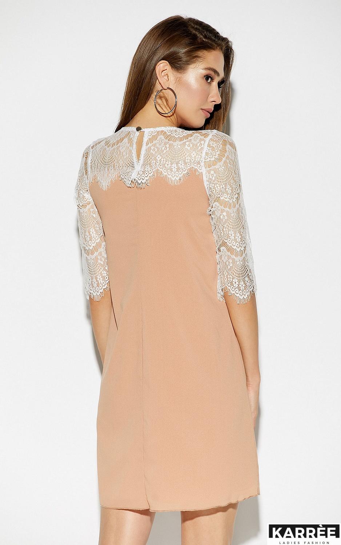 Платье Скай, Бежевый - фото 3