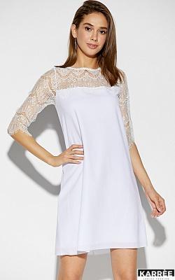 Платье Скай, Белый