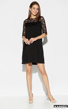 Платье Скай, Черный - фото 1