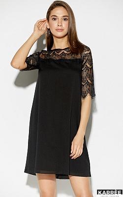 Платье Скай, Черный
