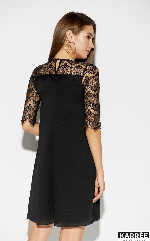 Платье Скай, Черный - фото 3