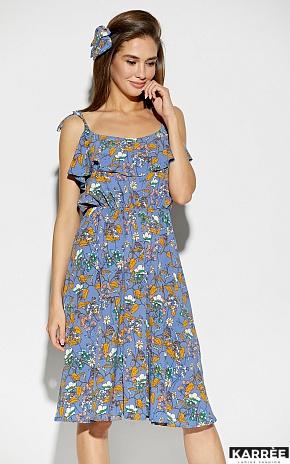 Платье Аква, Синий - фото 2