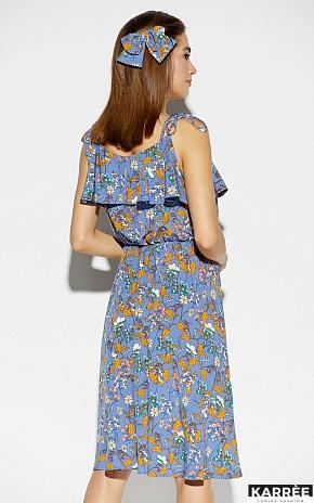 Платье Аква, Синий - фото 3