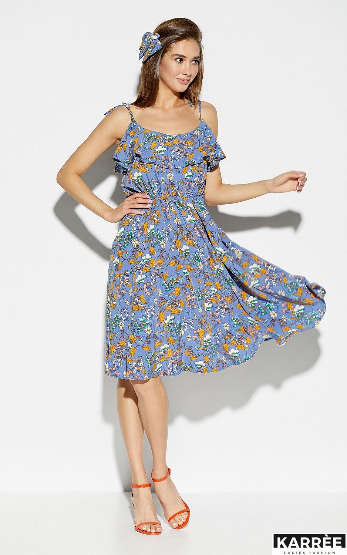 Платье Аква, Синий - фото 1