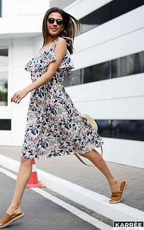 Платье Аква, Пудровый - фото 1