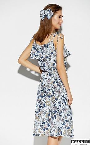 Платье Аква, Голубой - фото 3
