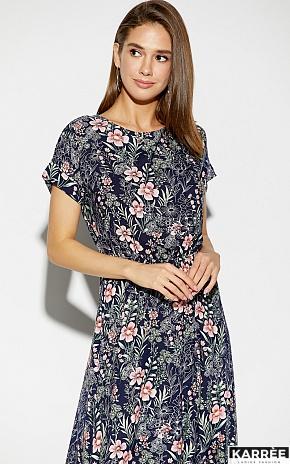 Платье Джессика, Темно-синий - фото 2
