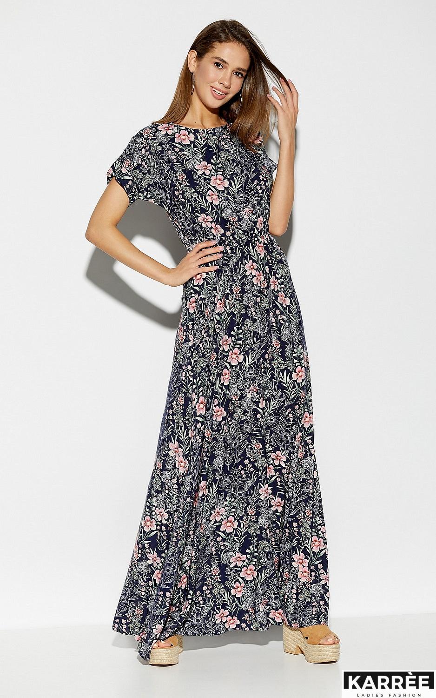 Платье Джессика, Темно-синий - фото 1
