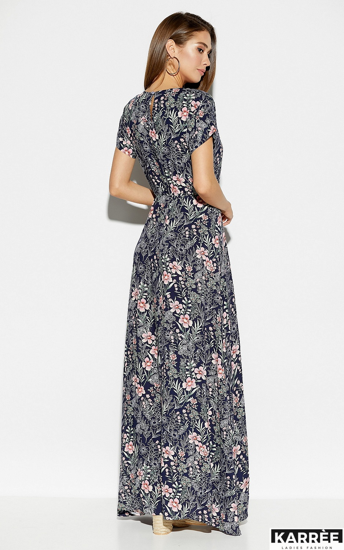 Платье Джессика, Темно-синий - фото 3