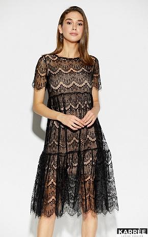 Платье Мексика, Черный - фото 1