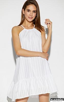 Платье Джанин, Белый