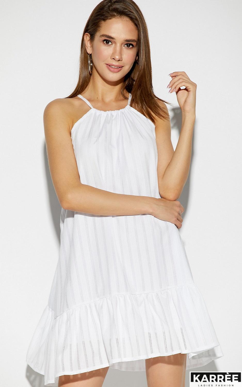 Платье Джанин, Белый - фото 2