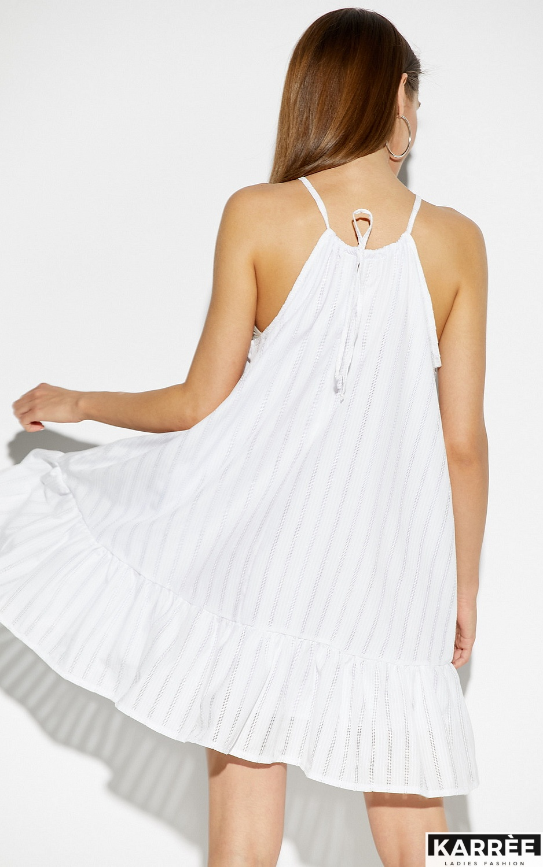 Платье Джанин, Белый - фото 3