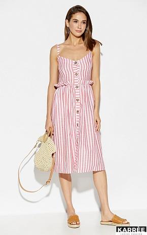 Платье Кианит, Красный - фото 1