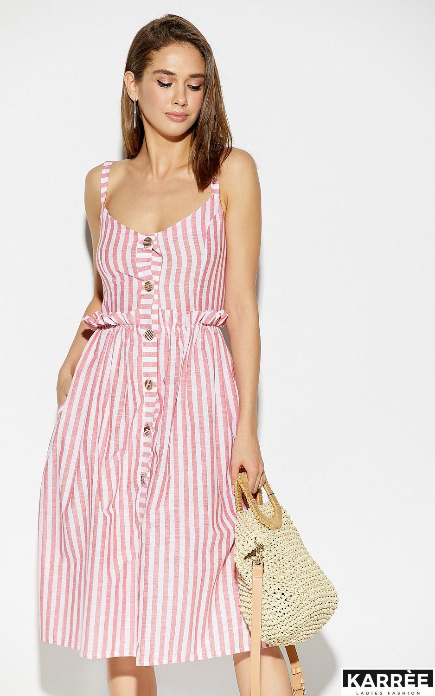 Платье Кианит, Красный - фото 2