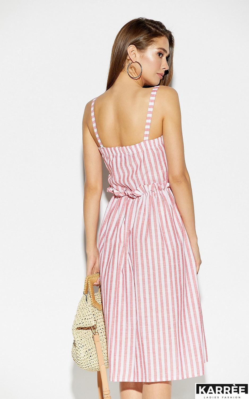 Платье Кианит, Красный - фото 3