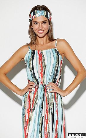 Платье Райт, Голубой - фото 3