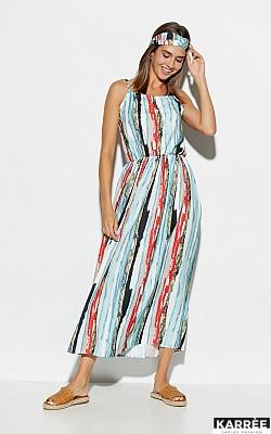 Платье Райт, Голубой