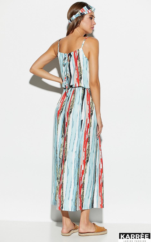 Платье Райт, Голубой - фото 4